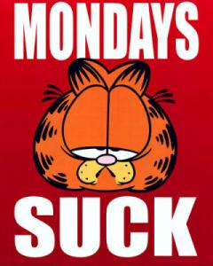 Garfield is so right!